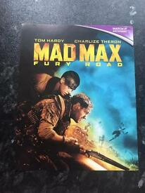 Mad Max: Fury Road Digital HD Ultraviolet Code Only