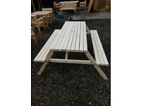 Outdoor Pub Style Bench