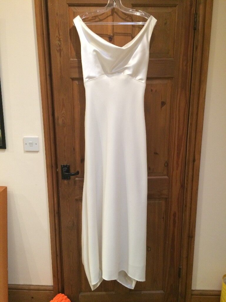Vintage Simple Wedding Dress UK Size 10-12 (second hand) | in ...