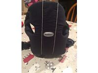Baby Bjorn carrier. Washable, excellent condition.