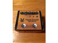 Visual Sounds V3 tap delay pedal