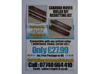 Caravan Mover Roller DIY Regritting Kit ,Easy To Do Save £sss On New Rollers,Thousands Sold FREE P&P