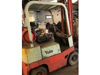 Yale fork lift truck