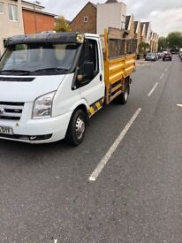 Ford transit tipper 2010 with Thomson body