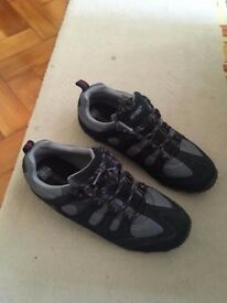 Hi-tec black grey shoes 10 - new