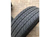 205/65x16 Tyres x4 on Vw transporter wheels