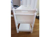 SnuzPod Bedside Crib 3 in 1 Eco-White