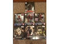 Marvel Blu-Ray Steelbooks (sealed)