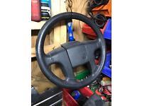 Volkswagen Golf MK2 Driver steering wheel