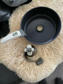 Genuine Tefal Actifry paddle & pan (items are used)