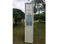 Single white Ikea wardrobe