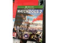 Watchdogs 2 deluxe edition Xbox one game