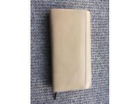 Matt & Nat Webber beige leather wallet / purse