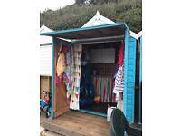 Beach Hut to rent Bournemouth Beach