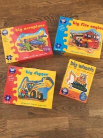 Bundle of 4 orchard toys jigsaws