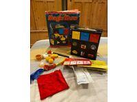 FISHER- PRICE -COMPLETE - MAGIC SHOW CASE/TRUNK CASE- VINTAGE - RARE - IN BOX - 1982