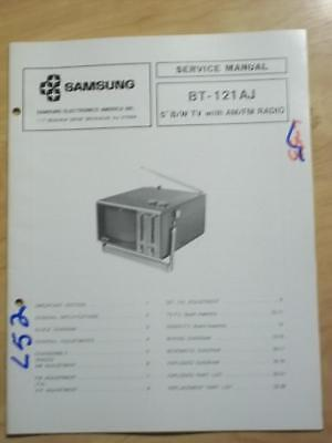 Samsung Service Manual for the BT-121AJ TV Radio   mp Samsung Tv Service Manual