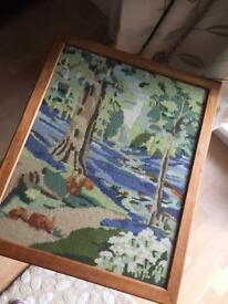 Fire screen / table