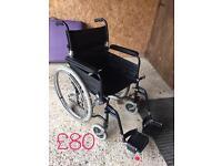U-go esteem self propelled lightweight wheelchair