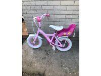 """14"""" girls bike"""