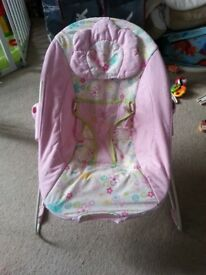 FREE Baby bouncy chair