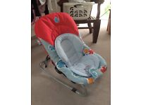 Chicco Relax & Play Bouncer - Excellent Condition