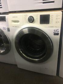 Samsung WF1124XAC Eco Bubble Washing Machine, 12kg