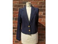Navy blazer size 8