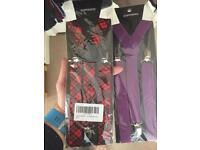 Colourful Suspender Braces