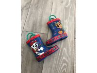 Paw patrol infant wellies size 5 and 6 both new