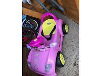 Electric Peppa Pig Car