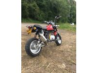 Easy Rider M50 Monkeybike 125 engine