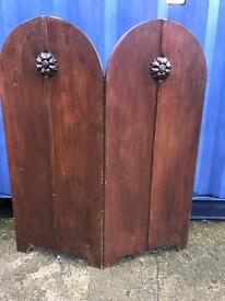 Wooden folding screen FREE DELIVERY PLYMOUTH AREA