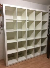 IKEA EXPEDIT KALLAX 5x5 - shelves and room divider
