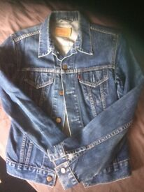 Ladies denim Levi jacket
