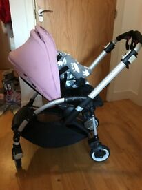 Bugaboo bee stroller with whole set of spare accessories