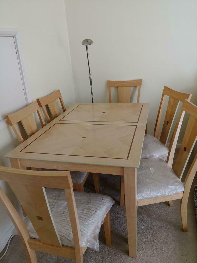 Extendable dining table and 6 chairs | in Maidenhead ...