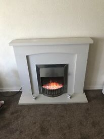 Fire place and electric fire for sale may sell separate