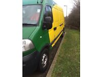 2007 VAUXHALL MOVANO 2.4 DIESEL MWB MANUAL MOT HPI CLEAR QUICK SALE!!!