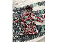 Next girls dressing gown 12-18 months