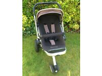 Quinny Buzz Pram System (Chocolate/Fudge) RRP £500+