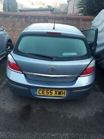 Vauxhall astra MOT expired 1 year ago car in good condition drives well