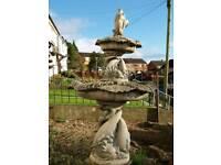 Two teir fountain/bird bath