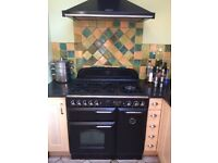 Rangemaster Leisure Classic 90 Duel Fuel Cooker and Hood