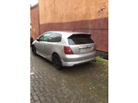 HONDA CIVIC TYPE R EP3 2001 Breaking