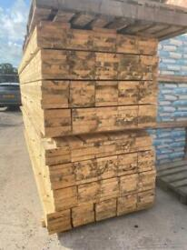 •New• Untreated Wooden Scaffold Boards / Planks - 3.9M