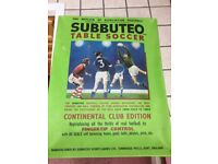 Subbuteo Table Top Soccer Games