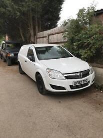 2013 1.7cdti Vauxhall Astra Van (Astravan) NO VAT