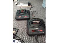Megadrive 2 consoles