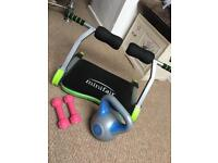 Core abb trainer kettle bell hand weights